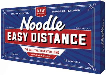 Noodle 2018 Easy Distance Golf Balls – 15 Pack