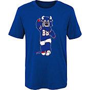 NFL Team Apparel Boys' Buffalo Bills Mascot Royal T-Shirt