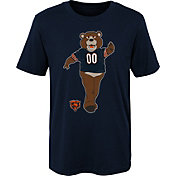 NFL Team Apparel Boys' Chicago Bears Mascot Navy T-Shirt