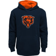 NFL Team Apparel Boys' Chicago Bears Prime Navy Pullover Hoodie