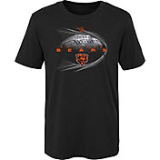 NFL Team Apparel Boys' Chicago Bears Performance Black T-Shirt