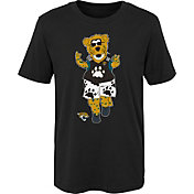 NFL Team Apparel Boys' Jacksonville Jaguars Mascot Black T-Shirt