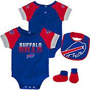 NFL Team Apparel Infant Buffalo Bills 50-Yard Onesie Set