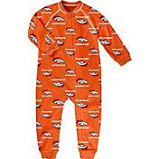 NFL Team Apparel Infant Denver Broncos Zip-Up Orange Coverall