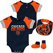 NFL Team Apparel Infant Chicago Bears 50-Yard Onesie Set