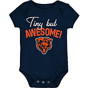 NFL Team Apparel Infant Chicago Bears Awesome Navy Onesie