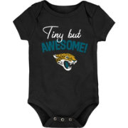 NFL Team Apparel Infant Jacksonville Jaguars Awesome Black Onesie