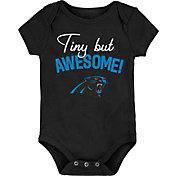 NFL Team Apparel Infant Carolina Panthers Awesome Black Onesie