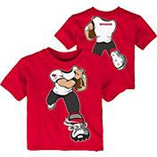 NFL Team Apparel Toddler Tampa Bay Buccaneers Rush Red T-Shirt