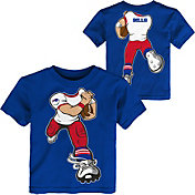 NFL Team Apparel Toddler Buffalo Bills Rush Royal T-Shirt