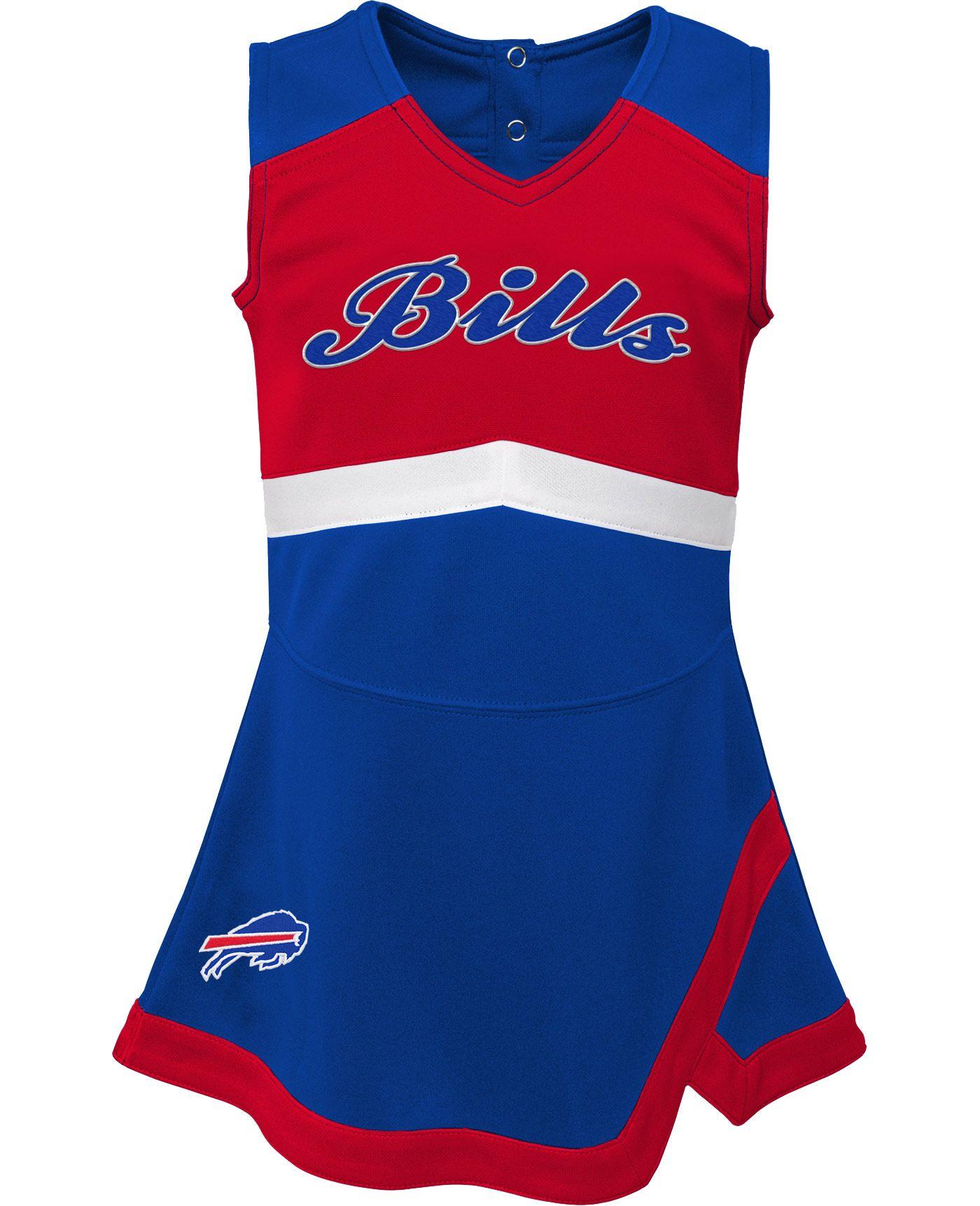 NFL Team Apparel Toddler Buffalo Bills Cheer Jumper Dress