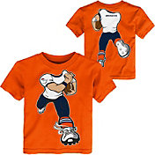 NFL Team Apparel Toddler Denver Broncos Rush Orange T-Shirt