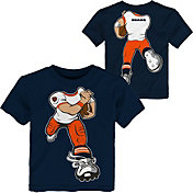 NFL Team Apparel Toddler Chicago Bears Rush Navy T-Shirt