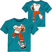NFL Team Apparel Toddler Miami Dolphins Rush Aqua T-Shirt