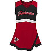 NFL Team Apparel Toddler Atlanta Falcons Cheer Jumper Dress