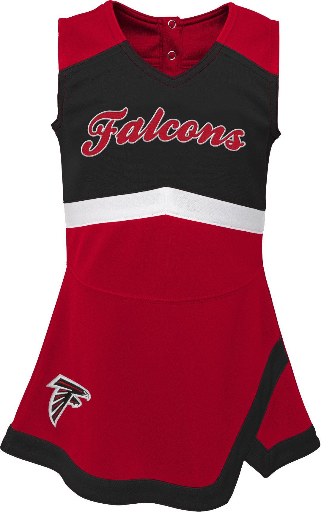 new style 2230c 12abf NFL Team Apparel Toddler Atlanta Falcons Cheer Jumper Dress