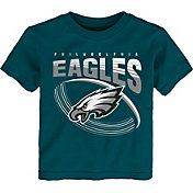 NFL Team Apparel Toddler Philadelphia Eagles Vortex Teal T-Shirt
