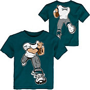 NFL Team Apparel Toddler Philadelphia Eagles Rush Teal T-Shirt