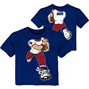 NFL Team Apparel Toddler New York Giants Rush Blue T-Shirt
