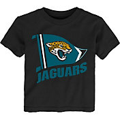 NFL Team Apparel Toddler Jacksonville Jaguars Flag Black T-Shirt