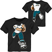NFL Team Apparel Toddler Jacksonville Jaguars Rush Black T-Shirt