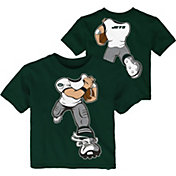 NFL Team Apparel Toddler New York Jets Rush Green T-Shirt