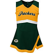 e3e4e0556b8d4 Product Image · NFL Team Apparel Toddler Green Bay Packers Cheer Jumper  Dress