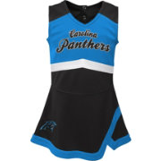 sports shoes 540c1 a9540 NFL Team Apparel Toddler Carolina Panthers Cheer Jumper Dress