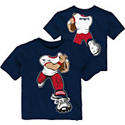 NFL Team Apparel Toddler New England Patriots Rush Navy T-Shirt
