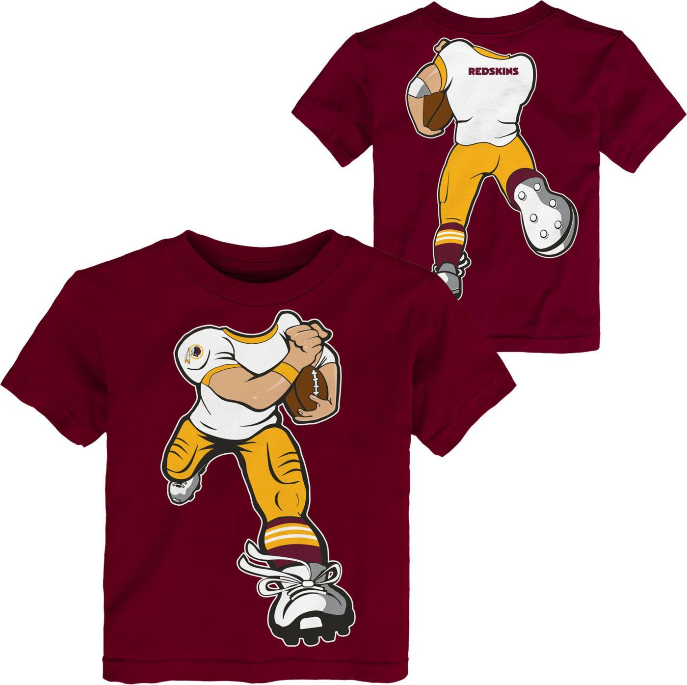 NFL Team Apparel Toddler Washington Redskins Rush Red T-Shirt