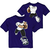 Product Image · NFL Team Apparel Toddler Baltimore Ravens Rush Purple T- Shirt 974bf6db6