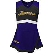 NFL Team Apparel Toddler Baltimore Ravens Cheer Jumper Dress