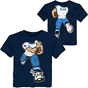 NFL Team Apparel Toddler Tennessee Titans Rush Navy T-Shirt