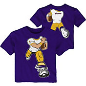 NFL Team Apparel Toddler Minnesota Vikings Rush Purple T-Shirt