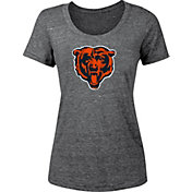 '47 Women's Chicago Bears Navy Scoop Neck T-Shirt