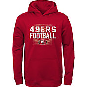 NFL Team Apparel Youth San Francisco 49ers Attitude Pullover Hoodie