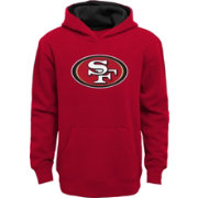 NFL Team Apparel Youth San Francisco 49ers Prime Red Pullover Hoodie