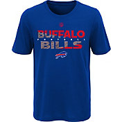 NFL Team Apparel Youth Buffalo Bills Flux Ultra Royal T-Shirt