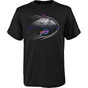 NFL Team Apparel Youth Buffalo Bills Performance Black T-Shirt