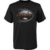 NFL Team Apparel Youth Denver Broncos Performance Black T-Shirt