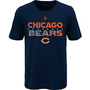 NFL Team Apparel Youth Chicago Bears Flux Ultra Brown T-Shirt