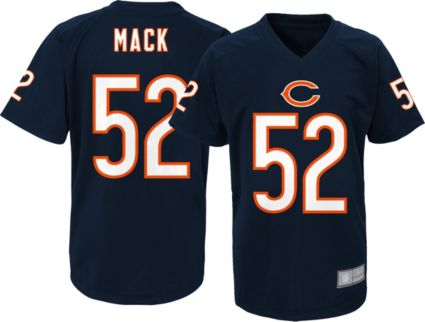 NFL Team Apparel Youth Chicago Bears Khalil Mack  52 Navy ... 17ef90c85