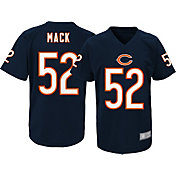 NFL Team Apparel Youth Chicago Bears Khalil Mack #52 Navy Performance T-Shirt