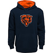 NFL Team Apparel Youth Chicago Bears Prime Navy Pullover Hoodie
