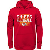 NFL Team Apparel Youth Kansas City Chiefs Attitude Pullover Hoodie