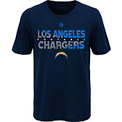 NFL Team Apparel Youth Los Angeles Chargers Flux Ultra Navy T-Shirt