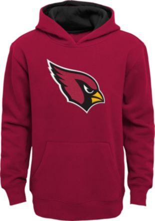 b271461ee6de NFL Team Apparel Youth Arizona Cardinals Prime Red Pullover Hoodie
