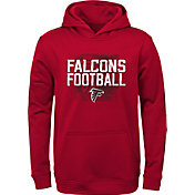 NFL Team Apparel Youth Atlanta Falcons Attitude Pullover Hoodie
