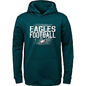 NFL Team Apparel Youth Philadelphia Eagles Attitude Pullover Hoodie