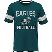 NFL Team Apparel Youth Philadelphia Eagles Prestige Green T-Shirt